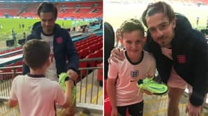 Jack Grealish Posed For A Photo And Gave Young Fan His Boots After Devastating Euro 2020 Final Loss