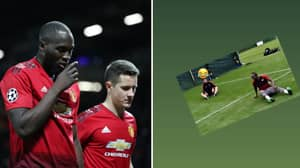 Sadio Mane Clearly Delighted In Manchester United's Champions League Misery
