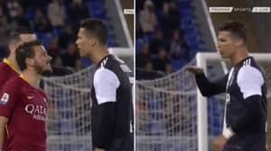 Cristiano Ronaldo Savagely Trolls Alessandro Florenzi For Being Too Short