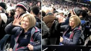 A Liverpool Fan Was Spotted In The Spurs End Last Night