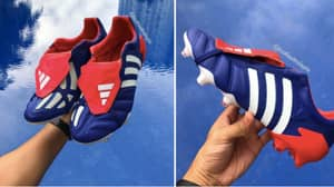 Adidas Japan Blue 2002 Predator Mania Boots Are Getting A Remake
