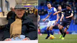103-Year-Old Sheffield Wednesday Fan Makes 7 Hour, 350 Mile Round Trip To Watch His Side