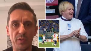 Gary Neville Dismantles 'Liar' Boris Johnson In Fresh Attack Over Taking The Knee Comments