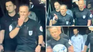 Referee Bizarrely Blows A Kiss At Match Ball Before Fulham Vs Middlesbrough