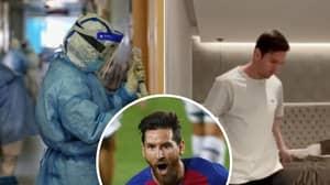 Lionel Messi has £900 Coronavirus-Killing Mattress On His Bed