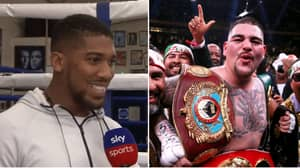 "Andy Ruiz Jr Angrily Responds To Anthony Joshua Saying He'd ""Whoop"" Him In Mexico"