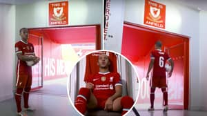 Thiago Reveals Liverpool Legend Told Him Why He Should Not Touch The 'This Is Anfield' Sign