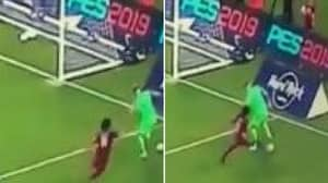 Joe Hart Astonishes Fans With Crazy Piece Of Skill Against Mohamed Salah