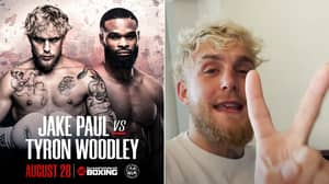 Jake Paul Savagely Taunts Tyron Woodley And Makes Prediction In Announcement Post