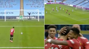 Manchester United End Manchester City's Winning Run Thanks To Luke Shaw's Deadly Finish