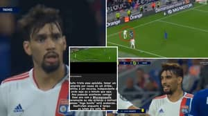 Lyon's Lucas Paquetá Booked For Attempted Rainbow Flick