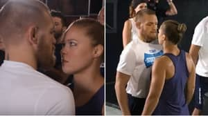 When Conor McGregor And Ronda Rousey Went Head-To-Head During Intense Face-Off