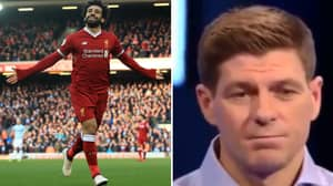 Steven Gerrard: Mo Salah Is The Greatest African To Play In The Premier League