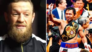 Conor McGregor Claims He's Had Talks With Manny Pacquiao Over Boxing Fight