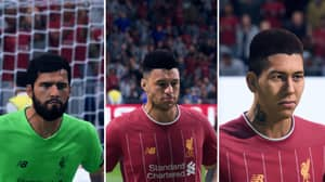 FIFA 20 Pictures Of Liverpool Players Look Fantastic