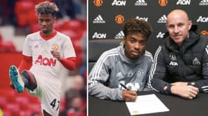 Manchester United Gave 17-Year-Old Angel Gomes One Of Their 'Biggest Youth Contracts' Ever