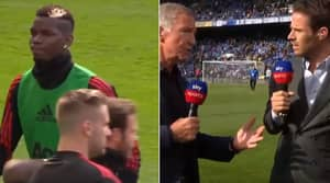 Graeme Souness Involved In Heated Argument About Paul Pogba At Pitchside