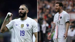Twitter Thread Tries To Prove Karim Benzema Is Better Than This PSG Star In 2021