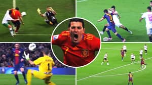 Compilation Of Prime David Villa Shows How He Was The 'Most Underrated Player Of His Generation'