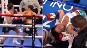 Seniesa Estrada Beat Her Opponent In Sevens Seconds In One Of Boxing's Biggest Mismatches