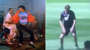 WATCH: Tony Adams Morphs Into Michael Jackson In Bizarre Training Method