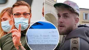 Jake Paul Reveals 'Proof' Of $50m Fight Offer That He Sent To Conor McGregor's Team