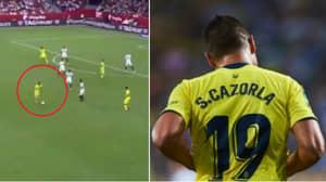 Santi Cazorla's Incredible Highlights Vs. Sevilla Have Got Arsenal Fans Crying