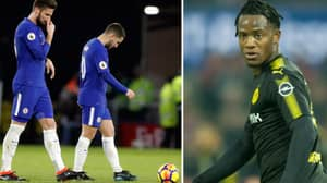 How Michy Batshuayi Reacted To Chelsea's Devastating Defeat To Watford