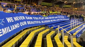 Cardiff City Fans Attend Nantes Game To Pay Tribute To Emiliano Sala