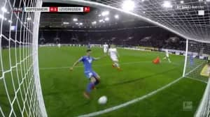 Ishak Belfodil Denied First Career Hat-Trick After Hoffenheim Teammate Pokes The Ball In On The Line