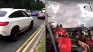 Police Investigating Footage Of Mohamed Salah Allegedly Using Mobile Phone Behind Wheel