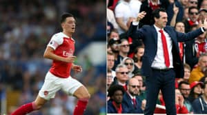 Unai Emery Explains What Actually Happened In Mesut Ozil Fight Before West Ham Clash