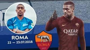Zenit Hilariously Mocks Roma Over The Signing Of Malcom, Italian Club Brilliantly Responds