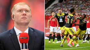 Paul Scholes Names One Manchester United Player Responsible For Dropped Points