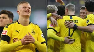Erling Haaland's Brilliant Response After Scoring A Brace Against Union Berlin
