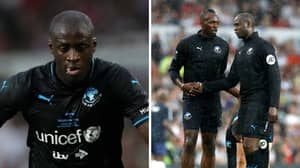 Yaya Toure Removed From Soccer Aid Line-Up After Sending 'Inappropriate WhatsApp Message'
