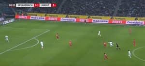 Florian Neuhaus Beautifully Chips Mainz Goalkeeper From 50 Yards Out