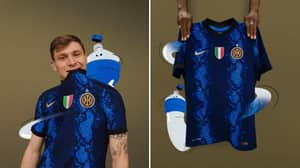 Inter Milan's First Home Kit Without Pirelli Is Quite Spectacular