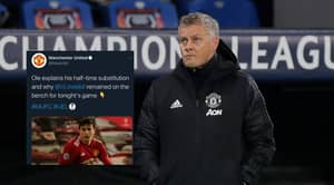 Manchester United Use The Europa League Hashtag By Accident In Deleted Twitter Post