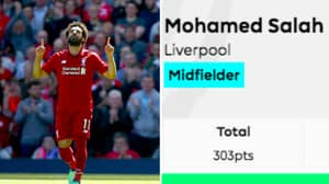 Mo Salah Smashes The Record For The Most FPL Points Accrued In A Season