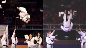 Taekwondo Team's Performance Is Absolutely Incredible