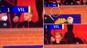 Donny Van De Beek Threw His Gum After Being Left On The Man Utd Bench, Needed Calming Down