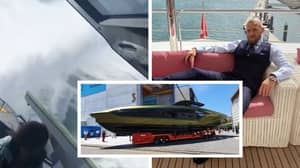 Conor McGregor Shares First Video Of Lamborghini Super Yacht 'Going Sideways At 120kmh'