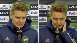 "Martin Odegaard Accused Of Having The ""Wrong Attitude"" In Post-Match Interview After Olympiakos Game"