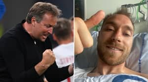 Denmark Manager Wore A Special, Unknown Tribute To Christian Eriksen During Emotional Russia Win