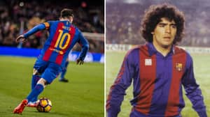 Diego Maradona's Eldest Son Asks Lionel Messi To Give Up The Number 10 Shirt