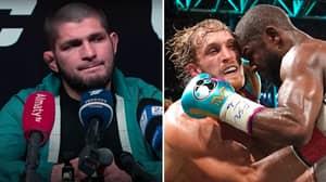 UFC Legend Khabib Nurmagomedov Finally Responds To Floyd Mayweather vs Logan Paul Fight