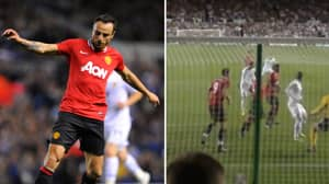 When Dimitar Berbatov Filled In At Centre Back For Manchester United