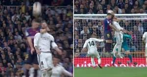 Clément Lenglet Gets 'Revenge' On Sergio Ramos After Madrid Captain Elbowed Lionel Messi