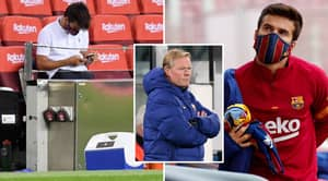 """Barcelona Manager Ronald Koeman Called Player A """"Leaker"""" In Front Of Entire Dressing Room"""